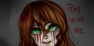 sally williams creepypasta play with me uncle pojď si semnou hrát creepy darktown.cz děsivé příběhy mrtvá dívka zelené krvavé oči