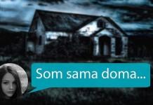 jsem doma sama láska až za hrob děsivý příběh strašidelný sms příběh darktown.cz creepypasty