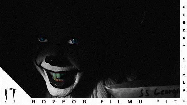 """Román Stephena Kinga """"To"""" strašidelný film horror darktown.cz creepy stalk děsivé"""