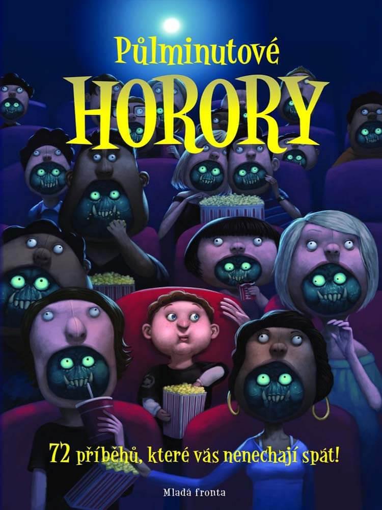 Půlminutové horory 77 příběhů, které vás nenechají spát kniha darktown