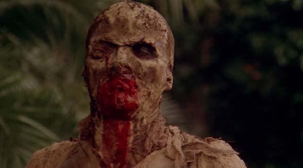 Zombie Flesh Eaters zombi 2 film recenze movie luvio fulci horror gore review