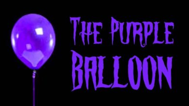 Photo of The Purple Balloon / Fialový Balón