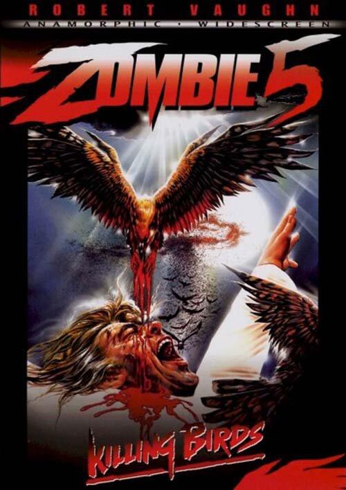 Zombie 5 Killing Birds horror gore recenze film darktown.cz creepypasty