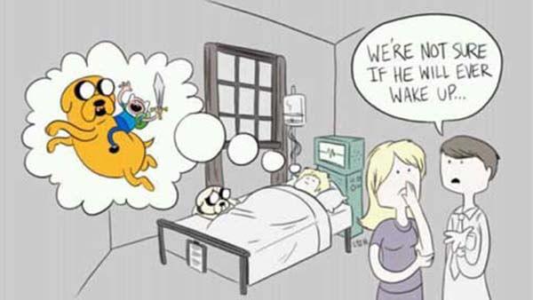Pravda za Čas na dobrodružství The Truth Behind Adventure Time creepypasta záhada darktown.cz