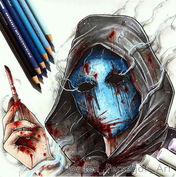 Eyeless Jack | Kresba od umělce Jordan_Persegati_Art