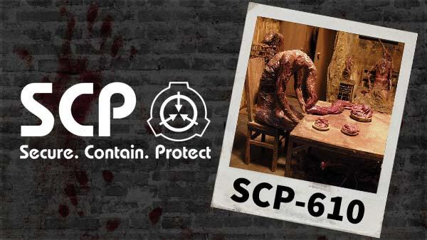 scp 610 The Flesh that Hates darktown
