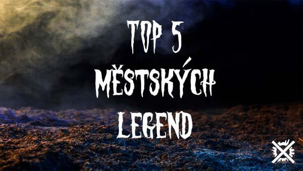 TOP 5 městských legend Článek Darktown