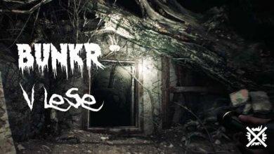 Bunkr v lese Creepypasta Darktown