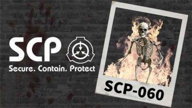 SCP-060 Infernal Occult Skeleton Darktown